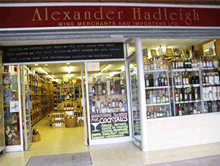 About Alexander Hadleigh Wine Merchants & Wine Importers