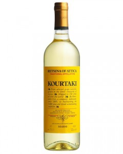 Retsina Fine Greek Wine Kourtaki,