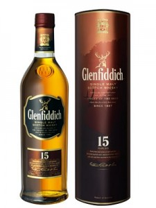 Glenfiddich 15 Year Old Single Malt Scotch Whisky,