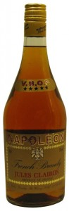 Napoleon Clairon VSOP, French Brandy,