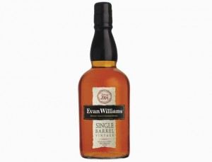 Evan Williams Single Barrel Kentucky Straight American Bourbon Whiskey 2004