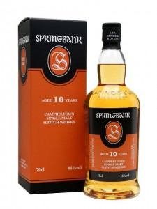 Springbank Single Malt Scotch Whisky, 10 Years Old