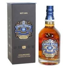 Chivas Regal 18 Years Old Scotch Whisky,