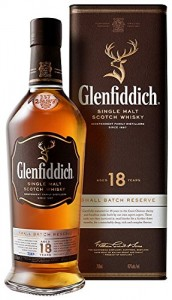 Glenfiddich 18 Year Old Single Malt Scotch Whisky, 18