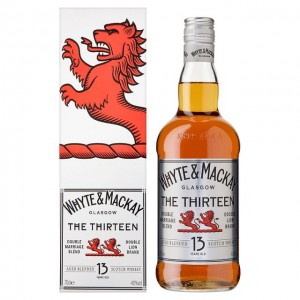 Whyte & Mackay 13 Years Old Scotch Whisky,