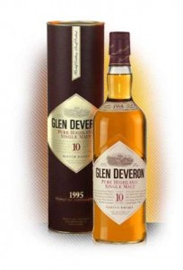 Glen Deveron 10 Year Old Single Malt Scotch Whisky