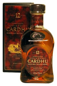 Cardhu 12 Years Old Single Malt Scotch Whisky