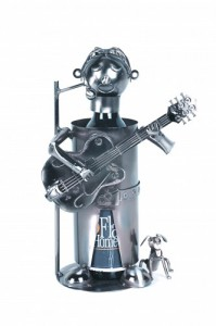 Wine Bottle Holder,The Guitarist