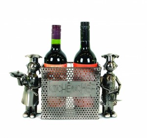 Wine Bottle Holder,The Kitchen Chefs
