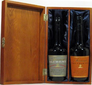 Somerset Cider Brandy 10Yrs & Somerset Cider Brandy 15Yrs in Luxury Wooden Gift Box