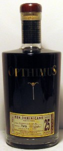 Opthimus Premium Rum  25 Year Old, Dominican Republic