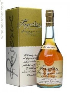 Fogolar 12 Year old, Italian Brandy