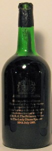 Old Full Pale Sherry, Harveys Bristol Cream Commemorative Bottling 1981, Magnum 1981