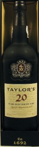Taylors Tawny 20 Year Old Port Wine,