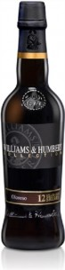 Dry Oloroso Sherry 12 Years Old, Williams & Humbert, Half Bottle,