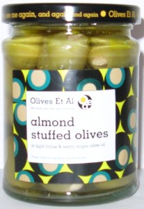 Almond Stuffed Olives Olives et Al