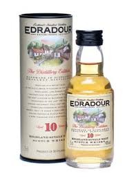 Edradour 10 Years Old Highland Single Malt Scotch Whisky 200ml