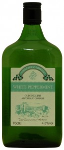 Phillips Old English White Peppermint Alcoholic Cordial, Phillips of Bristol