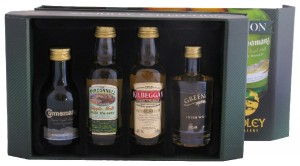 Cooley Irish Whiskey Miniature Giftpack