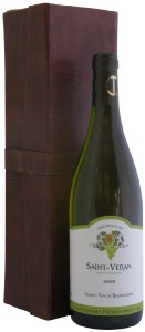 Burgundy White Wine in Wine Gift Box, 2009