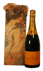 Champagne Veuve Clicquot Yellow Label Brut in Gift Bag,