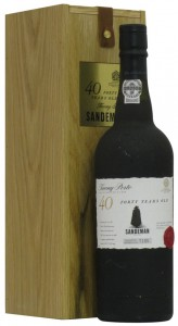 Sandeman Tawny Port Wine 40 Years Old,