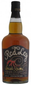 Red Leg Spiced Rum Caribbean,
