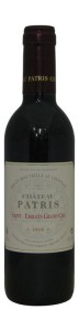 Chateau Patris, Saint Emilion Grand Cru, Half Bottle, 2010