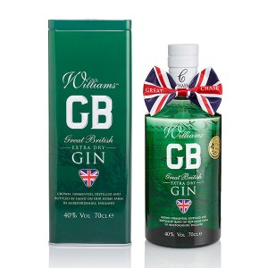 Williams GB Extra Dry Gin, Chase Distillery,