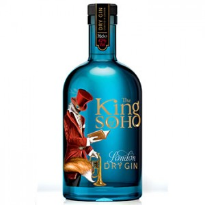 The King of Soho London Dry Gin,