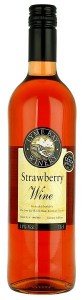 Strawberry Wine Lyme Bay Winery,