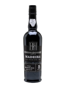 Madeira Wine Henriques and Henriques Finest Medium Rich 5 Years Old,