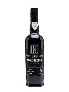 Madeira Wine Henriques and Henriques Finest Full Rich 5 Years Old,