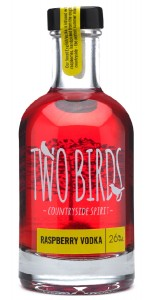 Two Birds Raspberry Vodka, 200ml,