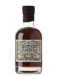 Wild Strawberry Liqueur The Wiltshire Liqueur Company,