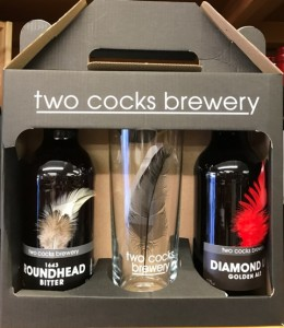 Beer and Glass Gift Pack, Two Cocks Brewery, Berkshire,