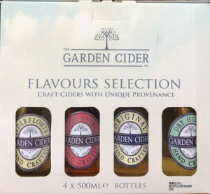 Cider 4bt Gift Pack, The Garden Cider Co, Surrey,