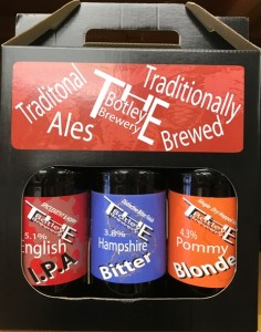 Beer 3bt Gift Pack, Botley Brewery, Hamphire,