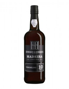 Madeira Wine Verdelho Henriques and Henriques 10 Years Old,