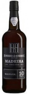 Madeira Wine Malvasia Henriques and Henriques 10 Years Old,