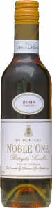 Noble One Botrytis Semillon, Dessert Wine,De Bortoli Wines, Half Bottle  (d) 2008