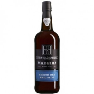 Madeira Wine Medium Dry Henriques and Henriques  3 Years Old, 3