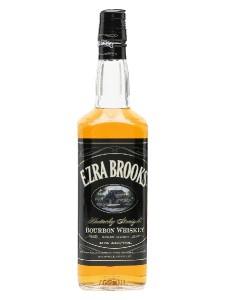 Ezra Brooks Black Label American Bourbon Whiskey,