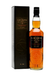 Glen Scotia 15 Year Old Single Malt Campbeltown Whisky,