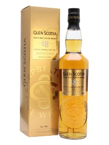 Glen Scotia 18 Year Old Campbeltown Single Malt Whisky,