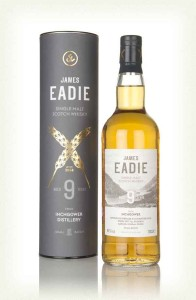 Inchgower 9 Year Old Single Malt Scotch Whisky, James Eadie,